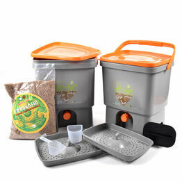 Bokashi Bin Kitchen Waste Bucket Bokashi Starter Kit (Two buckets)