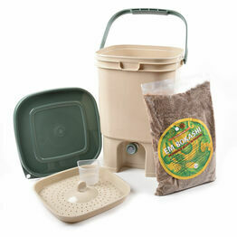 Bokashi Bin Kitchen Waste Bucket Bokashi Starter Kit (Single Bucket)